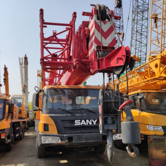 Used Sany 50ton Truck Crane Qy50 in Great Condition