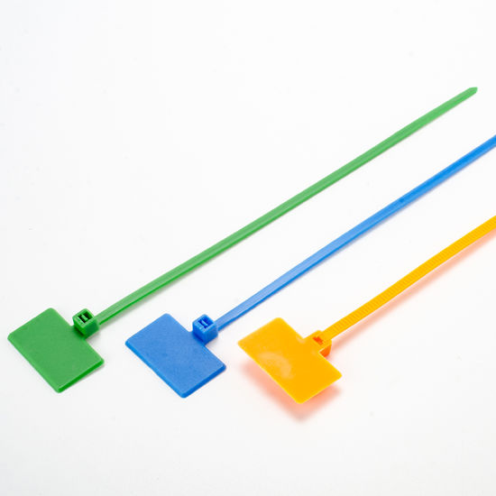 Plastic Marker Cable Ties Tidy Straps for Wholesales