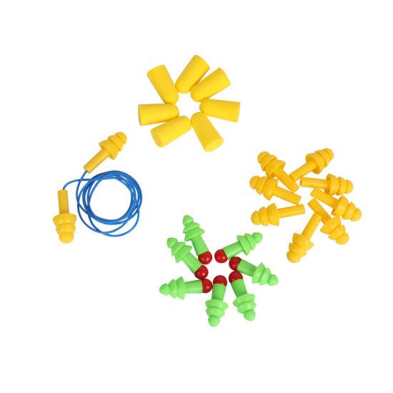 Reusable Waterproof Silicone Ear Plug Swimming Ear Plug Disposable Foam Corded Earplugs Uncorded Foam Earplugs