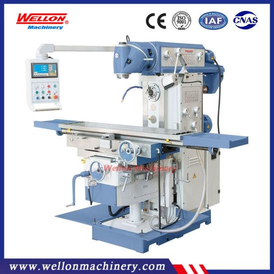Swivel Head Universal Milling Machine (XL6436 Knee type Vertical Milling Machine)