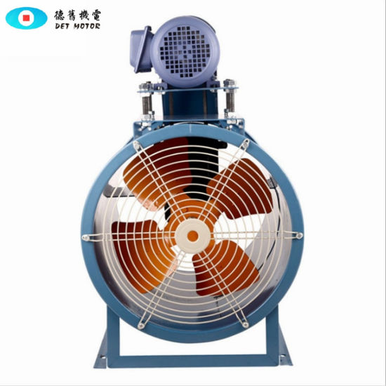 Industrial Discharge High Temperature or Damp Proof Axial Flow Fan