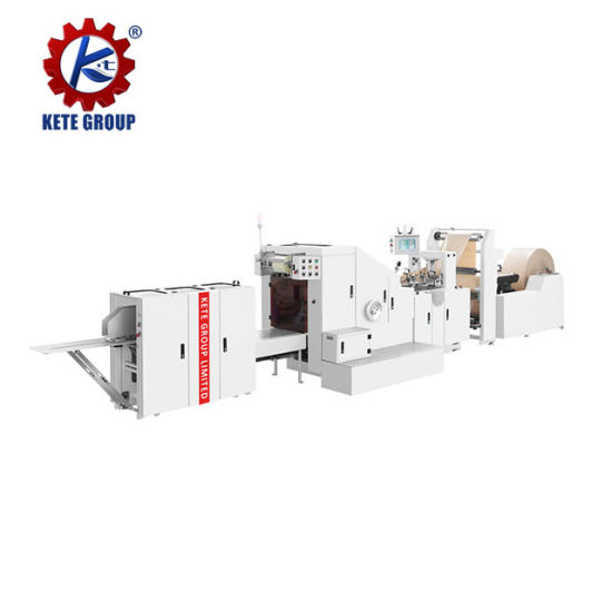 Automatic Square Bottom Paper Bag Making Machine for Sale