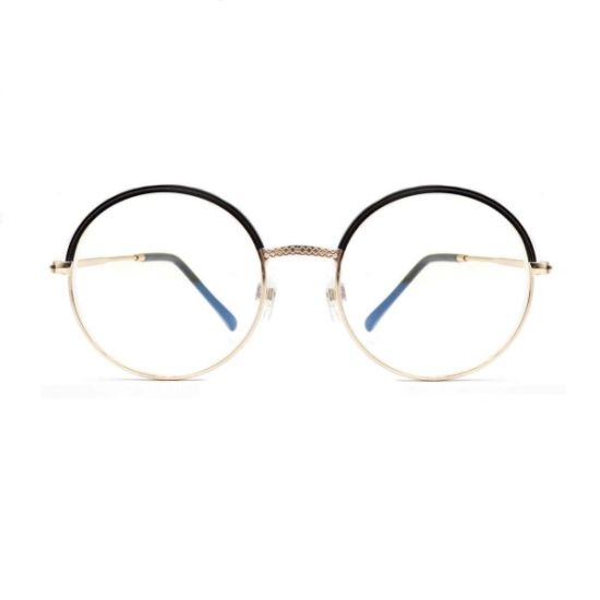 Ultra-Cheap New Design Round Metal Optical Frame in Stock
