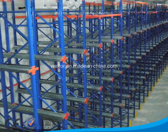 Drive in Racking First in-Last out or First in-First out Storage Style Drive in Racking