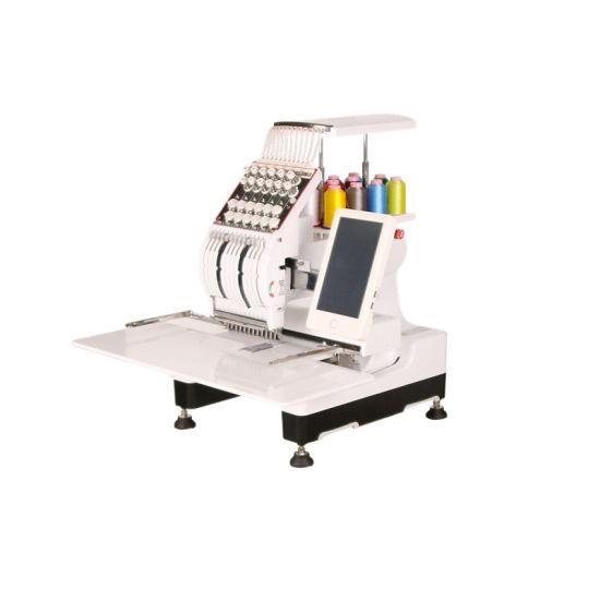 Single Head 12 Needle Computerized Computer Embroidery Machine