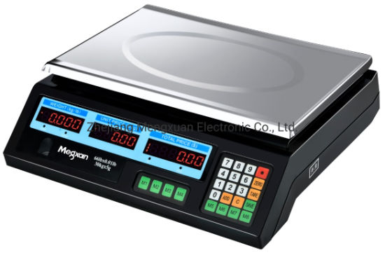 Weighing Electronic Digital Platform Scale Price Computing Scale