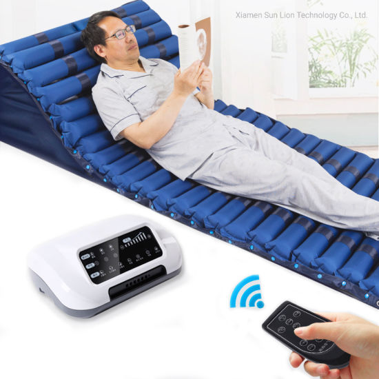 Hospital Bedridden Patients Care Inflatable Air Mattress with Pump