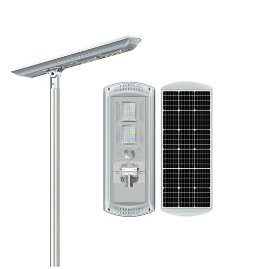 Outdoor Road Lighting Lamparas Solares LED Integrated All in One Solar Street Light