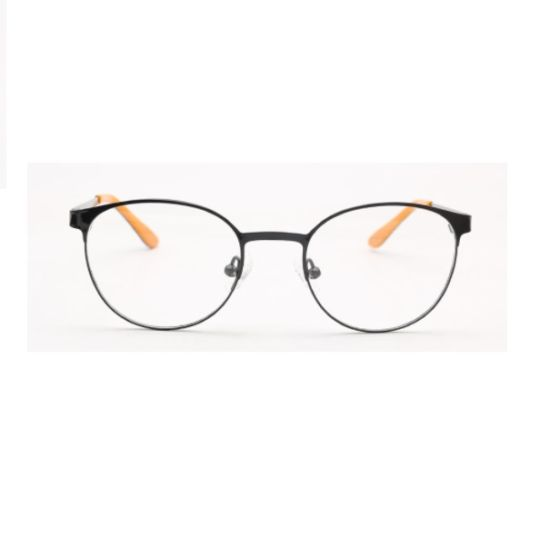 Round Thin Frame Metal Optical Frame for Kids in Stock