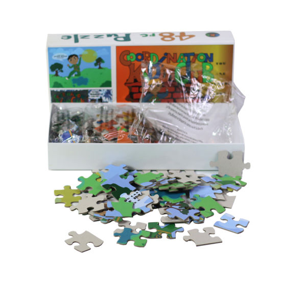 48 Piece Children Puzzle 3 in 1 Set Puzzle Game Educational Toys Jigsaw Puzzle Set for Kids