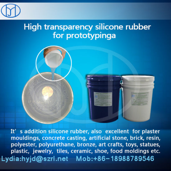 Silicone Liquid Rubber for Transparent Silicone Product Prototyping pictures & photos