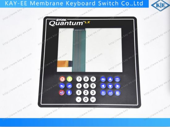 "ESD 8"" Resistive Touch Panel with Membrane Keypad Control Panel pictures & photos"