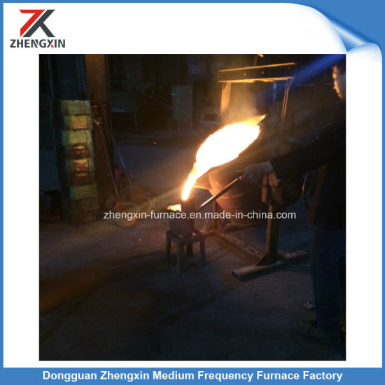 Aluminum Shell Induction Melting Furnace (GW-1T) pictures & photos