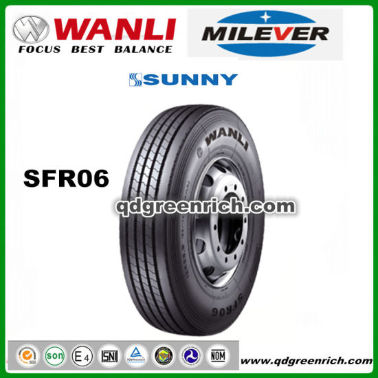 DOT/ECE/EU-Label Factory Wholesale All Steel Radial Heavy Duty Dump Truck Tires, TBR Tyre, Bus Trailer Tire 11r22.5 295/75r22.5 12r22.5 315/80r22.5 Wanli SDR06 pictures & photos