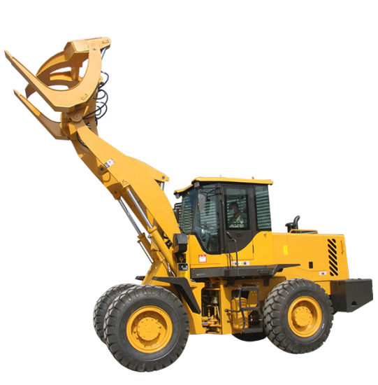 China CE wheel Front end Loader quick hitch attachment Log