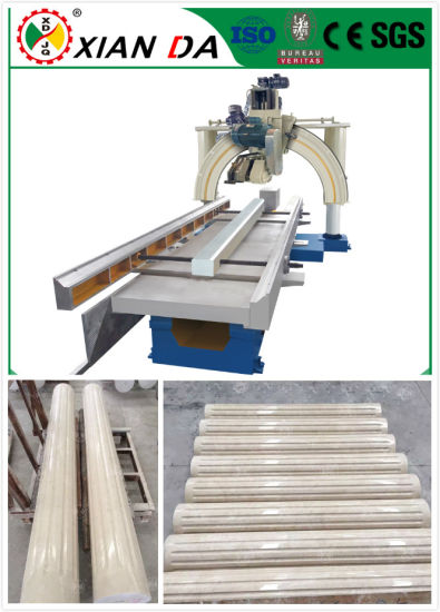 2017 New Automatic Roman Pillar Slot Stone Cut& Cutting Machine/ Process Machine pictures & photos