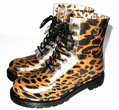 Fashion Ladies Waterproof Rain Shoes