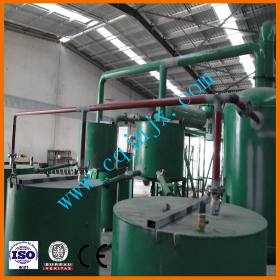 Waste Engine Oil Processing Machine Used Lubricant Oil Recycling Purifier pictures & photos