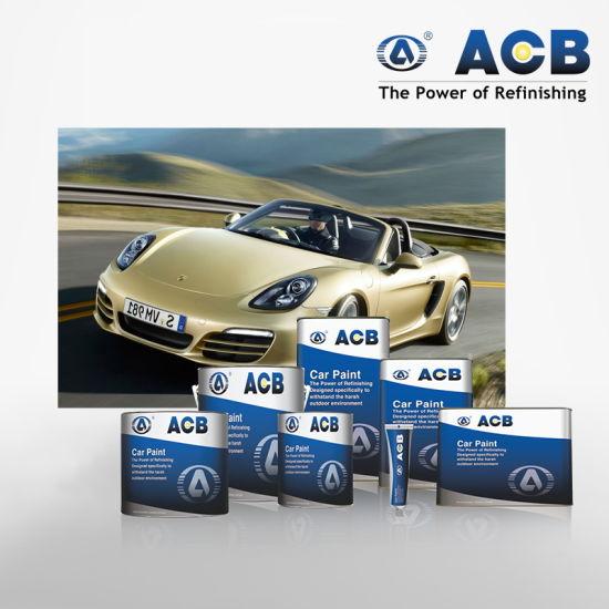 China Auto Body Supplies Automotive Paint Store 1k Basecoat