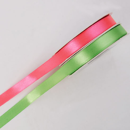 1/2′′ Solid Color Premium Fabric Satin Bias Binding Tape Double Fold pictures & photos