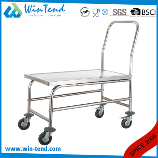 New Designed Strong Multi-Function Hand Pushing Platform Trolley pictures & photos