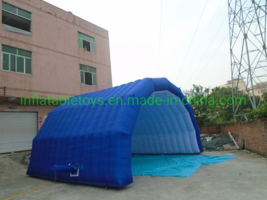 Stage Tunnel Inflatable Tent, Inflatable Tent Canopy for Advertising pictures & photos