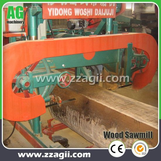 Bandsaw Mill For Sale >> Portable Horizontal Bandsaw Mill Machine Automatic Band Saw For Sale
