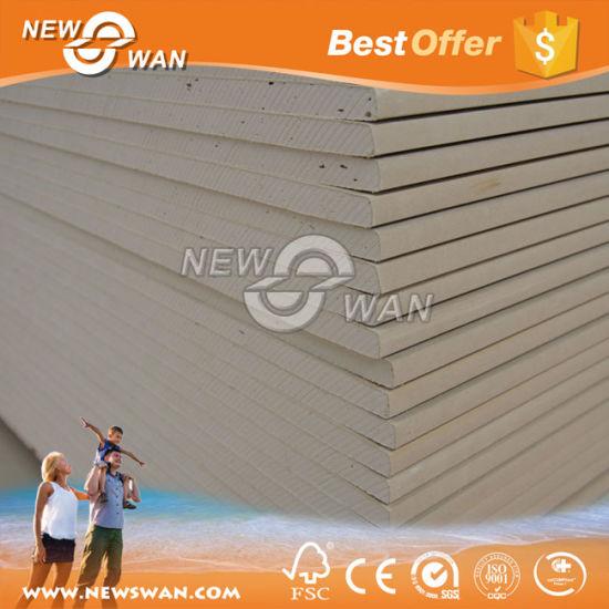 China Acoustic Perforated Drywall Knauf Gypsum Board - China