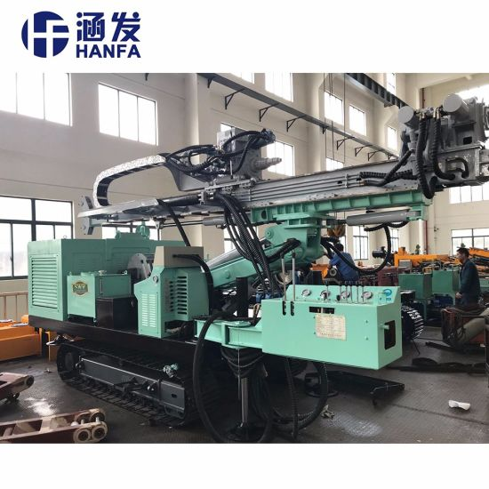 Hydraulic Core Drilling Rig for Metal Mining Shallow Oil Field Gas Exploration pictures & photos
