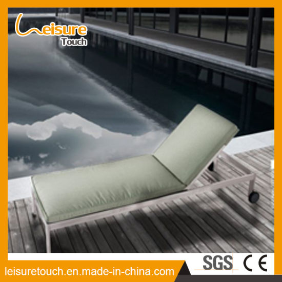 China New Design Removable Furniture with Wheel Sun Lounger ...