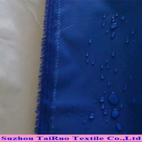 190t Polyester Taffeta with Waterproof for Raincoat Fabric