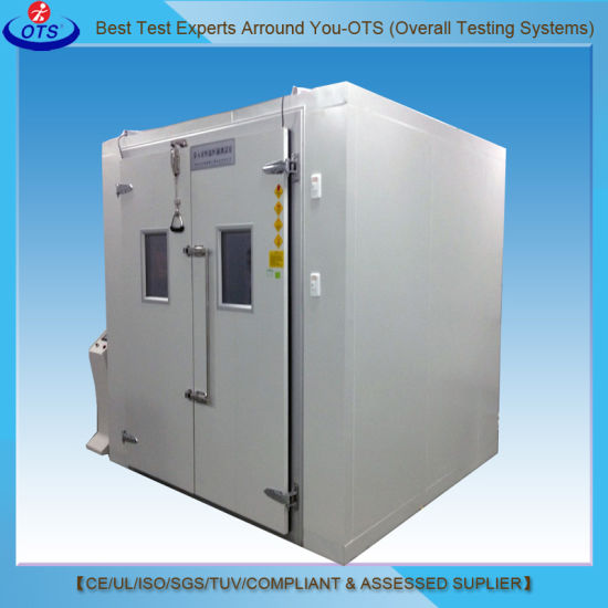 Chinese Supplier Electronic Walk-in Temperature Humidity Climatic Test Chamber