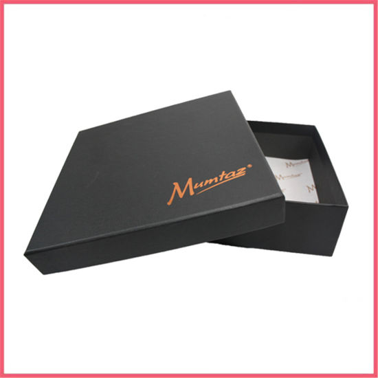 Custom Logo Cardboard Matte Black Box Manufacturer Supplier Factory