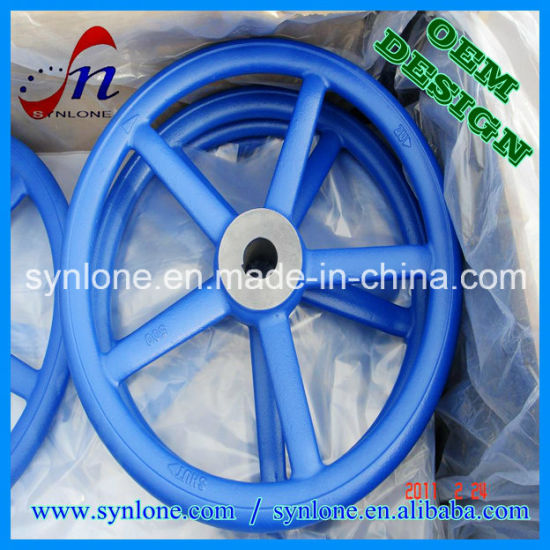 Isand Casting Iron Valve Handwheel pictures & photos