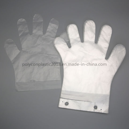 Disposable Surgical Medical PE Gloves
