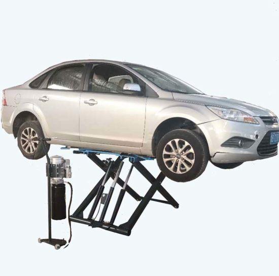 2700kgs/2.7ton Full Rise Auto Scissor Car Lift