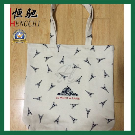 Full Color Printing Quality Tote Shopping Canvas Bag pictures & photos