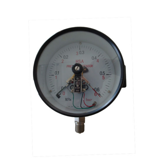 High Quality 150mm 6 Inch Electric Contact Pressure Gauge
