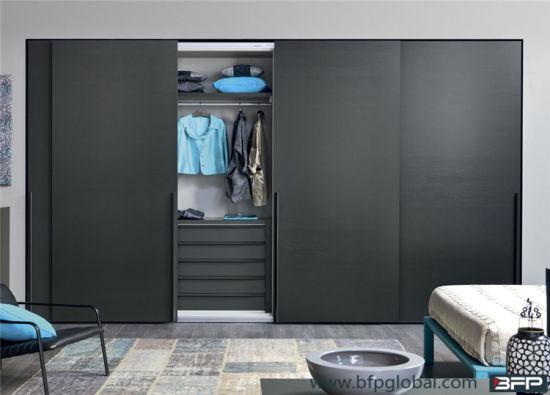China Modern Bedroom Furniture Laminated Sliding Door Wardrobe China Wardrobe Sliding Wardrobe
