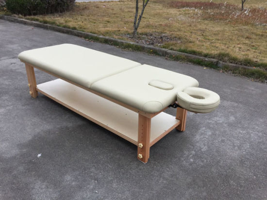 Deluxe Stationary Massage Table Sm-004 pictures & photos