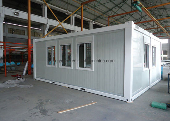 Customized Workshop Container House Prefab Prefabricated Flatpack Room pictures & photos