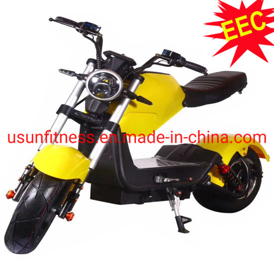 EEC Electric Scooter Motorcycle City Electric Bike with Remove Battery
