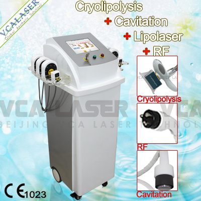 Cavitation+Cryolipolysis+Lipolaser+RF Fat Removal Slimming Machine (VS-300C) Liposuction Beauty Machine pictures & photos