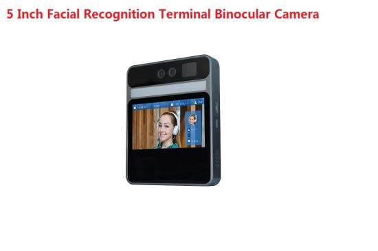 Fsan 1080P 5 Inch Time Attendance Access Control Face Recognition Terminal