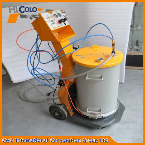 Manual Powder Painting Machine with 55L Fluidizing Hopper pictures & photos
