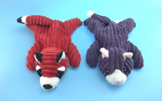 Non-Filled Skunk Toy for Pets Biting with Four Colors pictures & photos