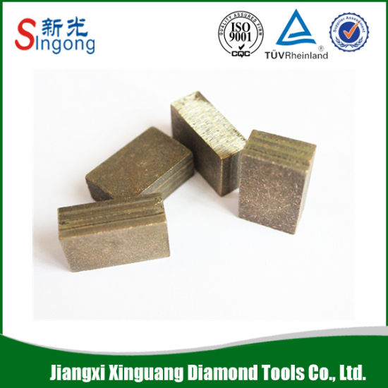 China Diamond Wire Saw Blade Segment Stone Cutting Tools - China ...