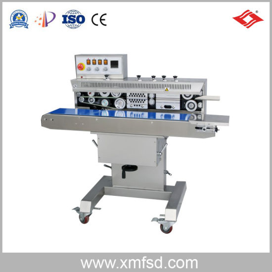 Frm-1120W Ink Wheel Color Printing Continuous Sealing Machine