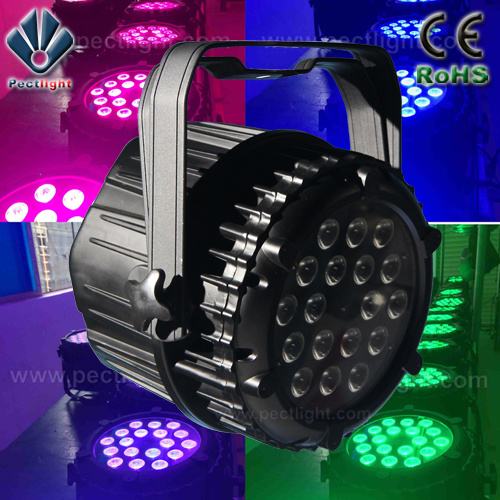 New 18X10W RGBW4in1 LED PAR Can Stage Light pictures & photos
