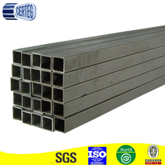 40X40mm Mild Steel Square Construction Structure Tube or Pipe (JCS-09)